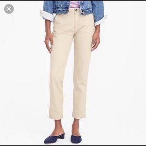 J. Crew stretch chino khaki pants